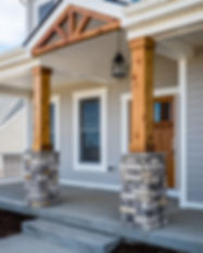 house wood columns
