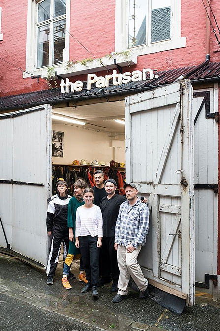 partisan cafe, bergen assembly, coffee, exhibiton