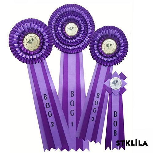 Köpek Irkları Yarışma Kokart Setleri 4 lü