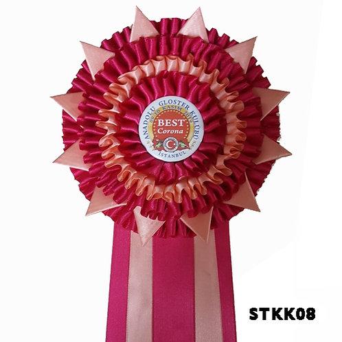 Best Corona  Yarışma Kokartları  5 Sıralı
