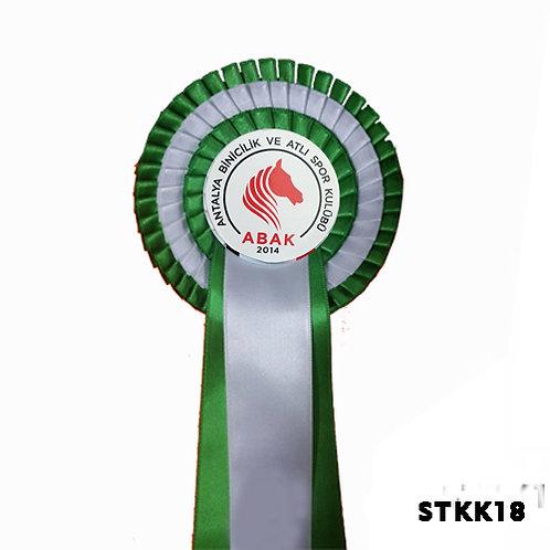 Binicilik  ve Atlı Yarışma Kokartlar 3 Sıralı