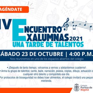 IV Encuentro Exalumnas 2021