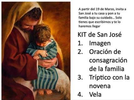En marzo adquiere tu Kit de San José