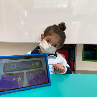 Preescolar cada día más tecnologicos