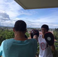 Fit Boxing à domicile