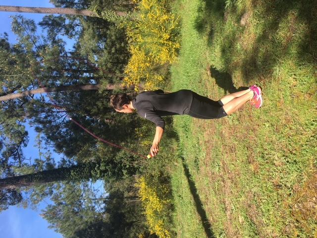 Training en forêt