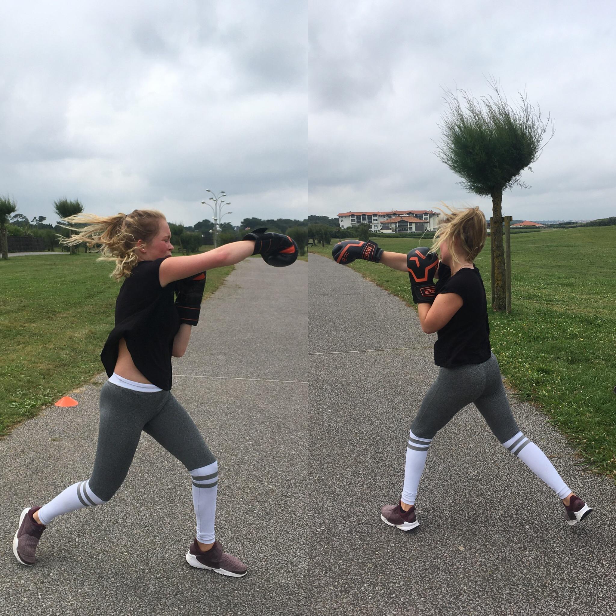 Fit Boxing avec Léa