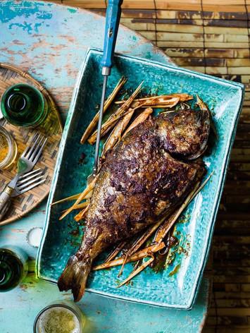 Whole Chilli and Lemongrass sea bream