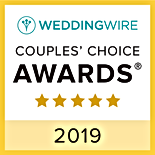 Xclusive Productions Weddingwire couples choice Award 2019