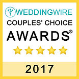 Xclusive productions wedding wire couples choice award 2017