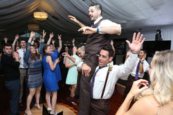 lifting groom