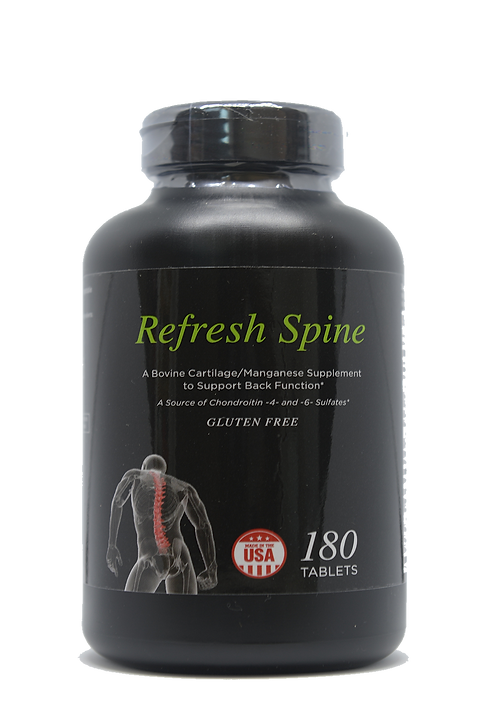 Refresh Spine Lumbar Spine Supplements