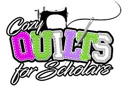 Cozy Quilts for Scholars Logo