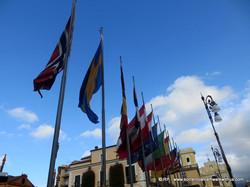 Flags Piazza Tasso