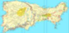 Map Capri hikes