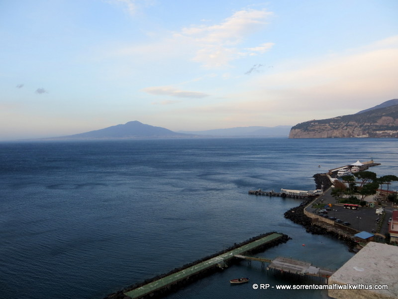 View from Villa Comunale Sorrento