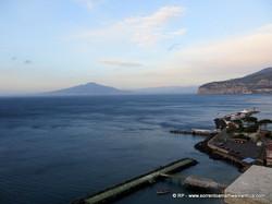 View from Villa Comunale Sorrento