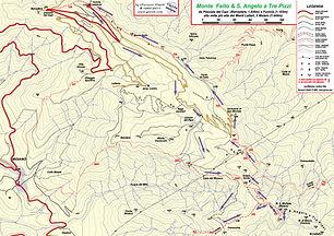 Map Monte Faito hikes
