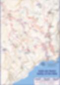 Map Amalfi Valley Mills Pontone Torre Ziro