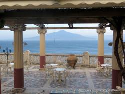 View through Villa Pompeiana