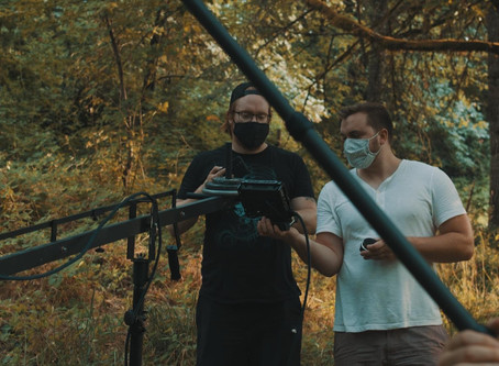 Filming during a pandemic and biblical fire event