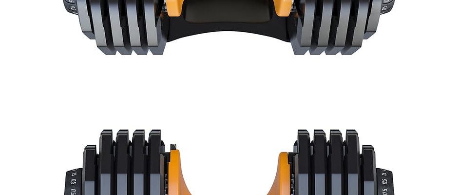 BWSS Adjustable Dumbbell 55lb Set