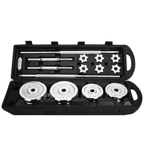 110 Adjustable Barbell Set