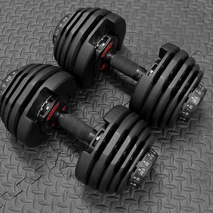 90lb Adjustable Dumbbell Pro Set