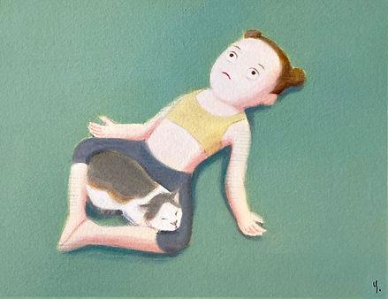 猫ヨーガ.JPG