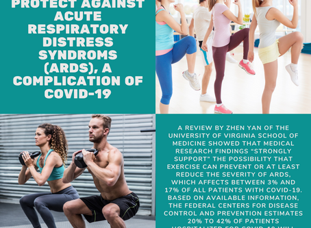 Exercise May Protect Against Acute Respiratory Distress Syndrome, A Complication of COVID-19