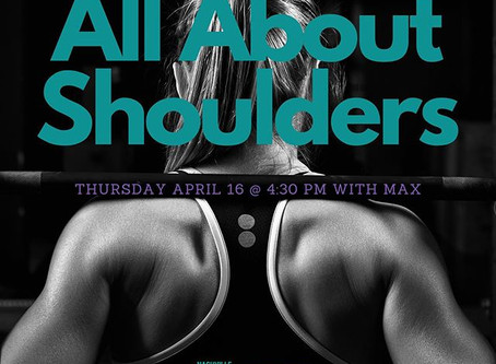 All About Shoulders with Max