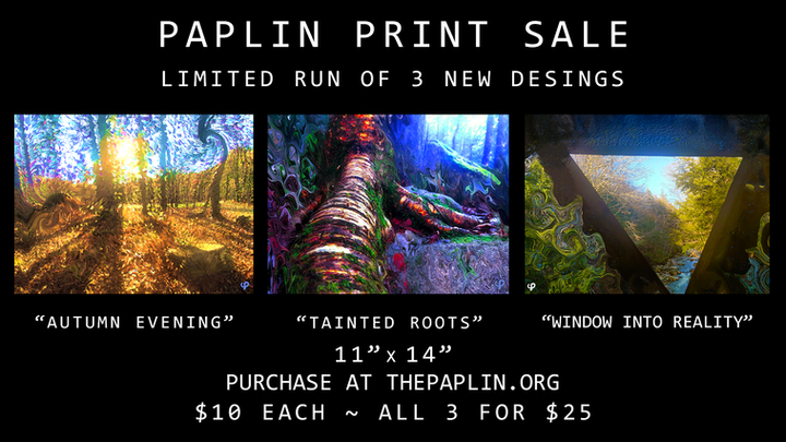 """NEW PRINTS: """"Altered Nature"""" Series"""