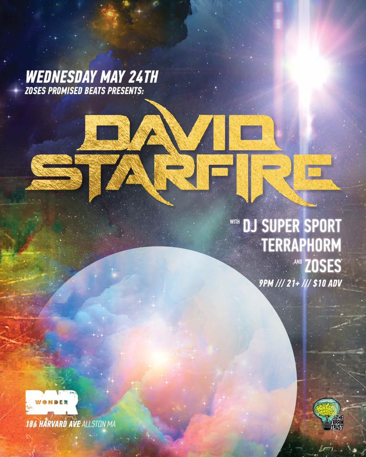 Zoses' Promised Beats With David Starfire at Wonder Bar