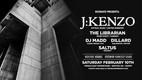 REZINATE: J:Kenzo, The Librarian, DJ Madd, Dillard, Saltus