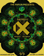 The Paplin Presents: iX, Sacred G & Docious