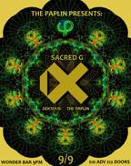 The Paplin Presents: iX, Sacred G & Docious