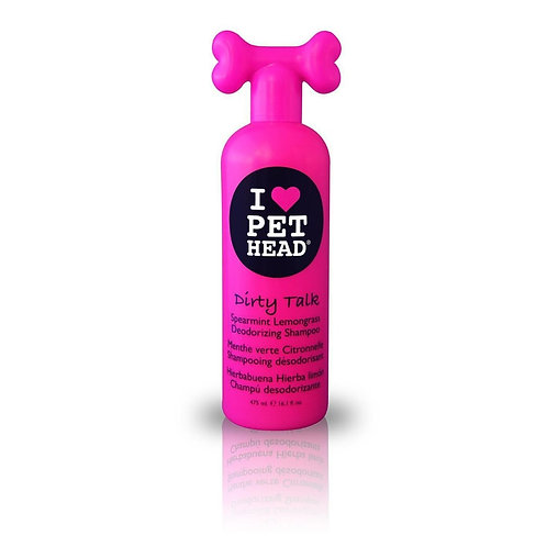 Shampoo Pet Head Dirty Talk Eliminador de Odores 475ML