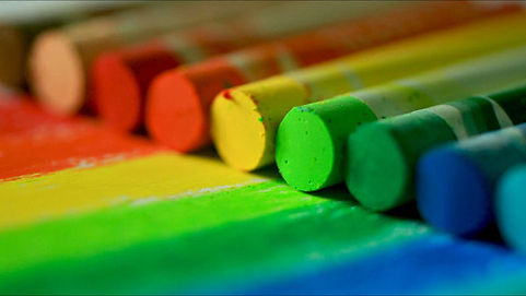 Photo de pastels de couleur