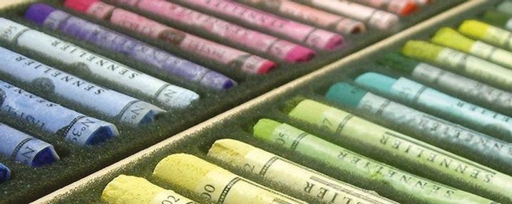 Photo de coffret de pastels