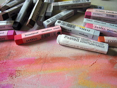 Photo de pastels couleurs