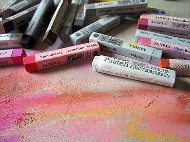 Photo de pastels couleurs