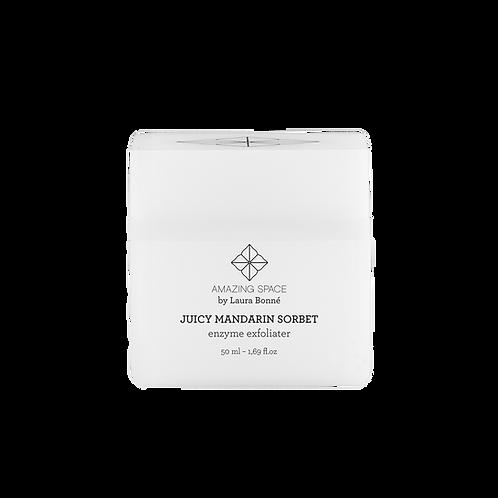 Juicy Mandarin Sorbet - Enzyme Exfoliator, 50 ml