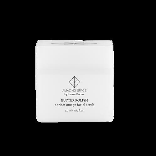 Butter Polish - Apricot Omega Facial Scrub, 50 ml