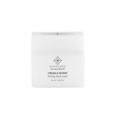 Cream & Honey - Firming Facial Mask, 50 ml.