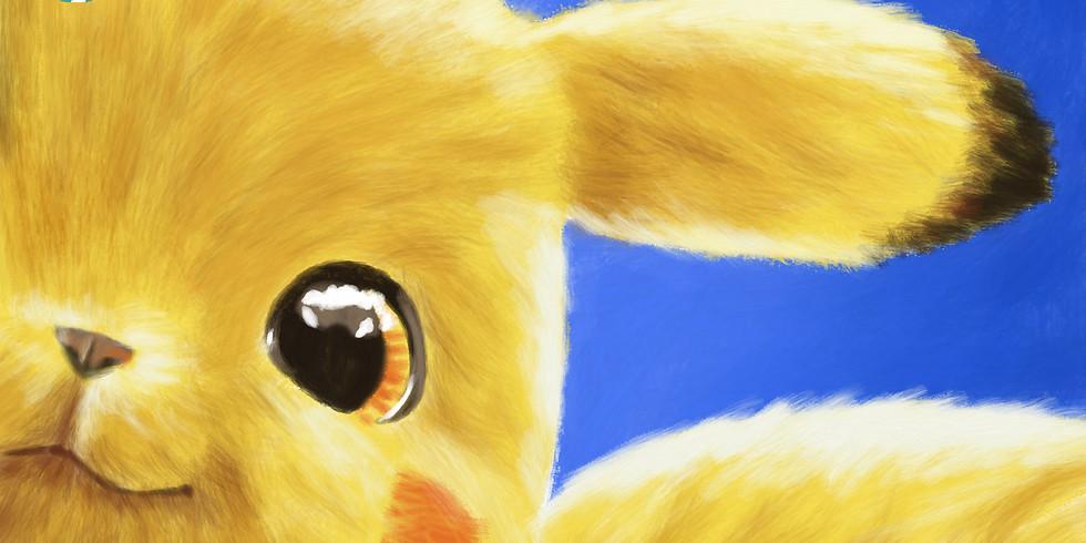 Pikachu Paint Night