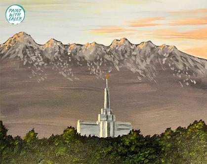 Mount Timpanogos Temple (Option 2)
