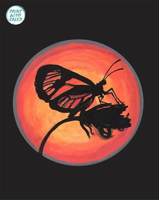 Butterfly Sillhoette