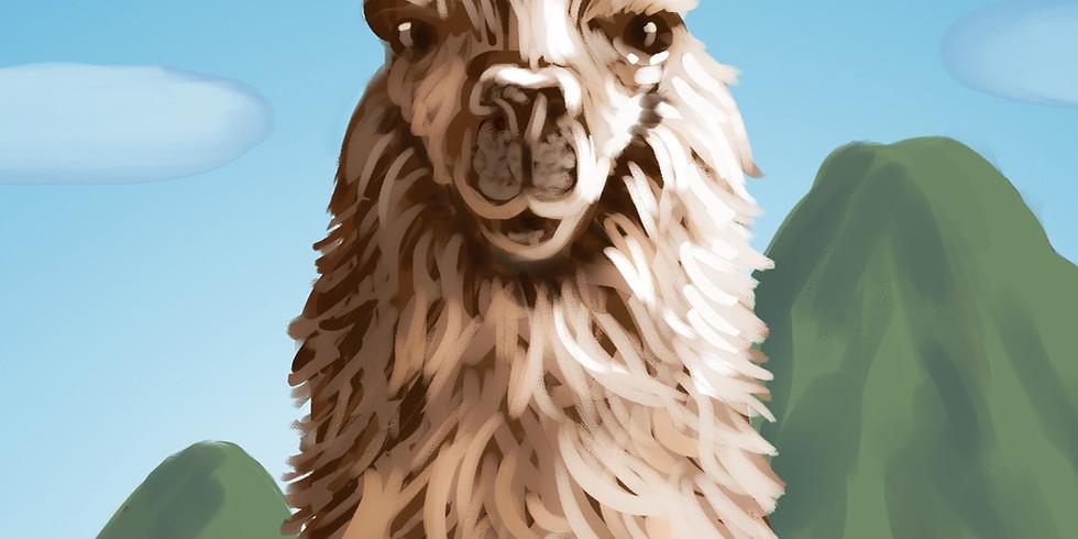 Llama Paint Night