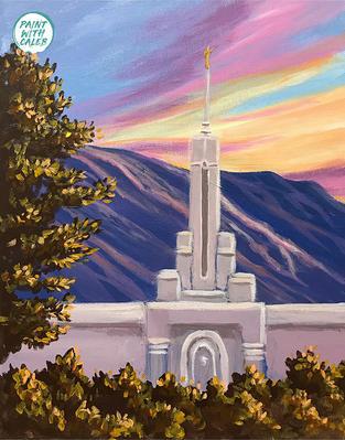 Mount Timpanogos Temple (Option 1)