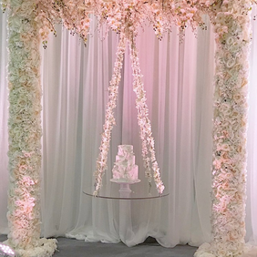 Flower Arch Cake Stand